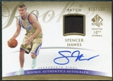 2007/08 Upper Deck SP Authentic #122 Spencer Hawes RC Jersey Patch Autograph /599