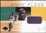 2000/01 Upper Deck Hardcourt Game Floor #AWF Antoine Walker