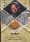 1999/00 Upper Deck Black Diamond A Piece of History #BD Baron Davis H