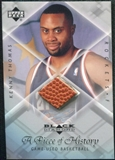 1999/00 Upper Deck Black Diamond A Piece of History #KT Kenny Thomas H/R
