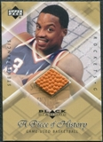 1999/00 Upper Deck Black Diamond A Piece of History #SF Steve Francis H