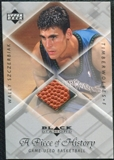 1999/00 Upper Deck Black Diamond A Piece of History #WS Wally Szczerbiak H/R