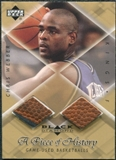 1999/00 Upper Deck Black Diamond A Piece of History Double #CW Chris Webber H