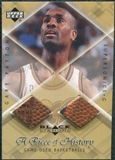 1999/00 Upper Deck Black Diamond A Piece of History Double #GP Gary Payton H