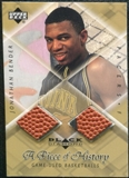 1999/00 Upper Deck Black Diamond A Piece of History Double #JB Jonathan Bender H