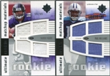 2007 Upper Deck Ultimate Collection Rookie Materials Matchup #FW Yamon Figurs/Paul Williams /99