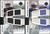 2007 Upper Deck Ultimate Collection Rookie Materials Matchup #HW Johnnie Lee Higgins/Paul Williams /99