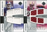 2007 Upper Deck Ultimate Collection Rookie Materials Matchup #SH Steve Smith USC/Jason Hill /99
