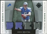 2007 Upper Deck Ultimate Collection Rookie Materials Silver #URMDS Drew Stanton