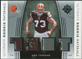 2007 Upper Deck Ultimate Collection Rookie Materials Silver #URMJT Joe Thomas