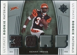 2007 Upper Deck Ultimate Collection Rookie Materials Silver #URMKI Kenny Irons