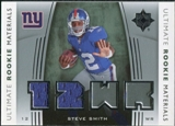 2007 Upper Deck Ultimate Collection Rookie Materials Silver #URMSS Steve Smith USC