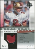 2007 Upper Deck Ultimate Collection Achievement Patches #UAPSY Steve Young /99