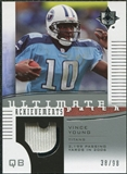 2007 Upper Deck Ultimate Collection Achievement Patches #UAPVY Vince Young /99
