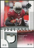 2007 Upper Deck Ultimate Collection Game Patches #UGPEJ Edgerrin James /99