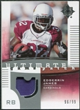2007 Upper Deck Ultimate Collection Game Patches #UGPEJ2 Edgerrin James /99