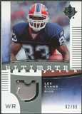 2007 Upper Deck Ultimate Collection Game Patches #UGPLE Lee Evans /99