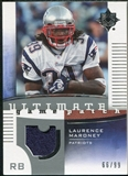 2007 Upper Deck Ultimate Collection Game Patches #UGPLM Laurence Maroney /99