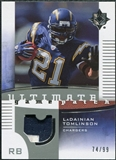 2007 Upper Deck Ultimate Collection Game Patches #UGPLT LaDainian Tomlinson /99