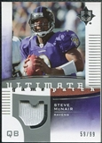 2007 Upper Deck Ultimate Collection Game Patches #UGPSM Steve McNair /99