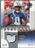2007 Upper Deck Ultimate Collection Game Patches #UGPVY Vince Young /99