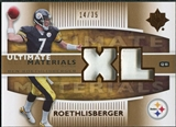 2007 Upper Deck Ultimate Collection Materials Patches #UMBR Ben Roethlisberger /35