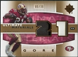 2007 Upper Deck Ultimate Collection Materials Patches #UMFG Frank Gore /35