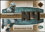 2007 Upper Deck Ultimate Collection Materials Patches #UMLW Leon Washington /35