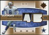 2007 Upper Deck Ultimate Collection Materials Patches #UMTR Tony Romo /35