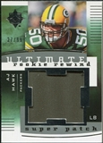 2007 Upper Deck Ultimate Collection Rookie Rewind Super Patches #AH A.J. Hawk /99