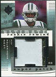 2007 Upper Deck Ultimate Collection Rookie Rewind Super Patches #LW Leon Washington /99