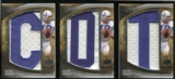 2009 Upper Deck Icons Immortal Lettermen #ILJU Johnny Unitas /126 (Letters spell out COLTS/ Total print run 63