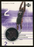 2001/02 Upper Deck Flight Team Flight Patterns #DS DeShawn Stevenson