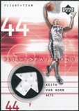 2001/02 Upper Deck Flight Team Flight Patterns #KV Keith Van Horn