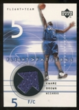 2001/02 Upper Deck Flight Team Flight Patterns #KW Kwame Brown
