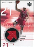 2001/02 Upper Deck Flight Team Flight Patterns #MF Marcus Fizer