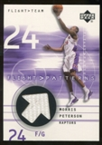 2001/02 Upper Deck Flight Team Flight Patterns #MP Morris Peterson