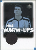 2000/01 Upper Deck Encore NBA Warm-Ups #CMW Chris Mihm