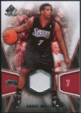 2007/08 Upper Deck SP Game Used #105 Andre Miller Jersey