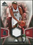 2007/08 Upper Deck SP Game Used #109 Charlie Villanueva Jersey