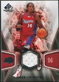 2007/08 Upper Deck SP Game Used #137 Shaun Livingston Jersey