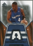2007/08 Upper Deck SP Game Used Authentic Fabrics #AFAJ Antawn Jamison