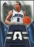 2007/08 Upper Deck SP Game Used Authentic Fabrics #AFDE Deron Williams