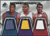2007/08 SP Game Used Authentic Fabrics Triple #BBA Andray Blatche/Andrew Bynum/LaMarcus Aldridge /50
