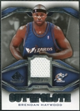 2007/08 Upper Deck SP Game Used Cut from the Cloth #CCBH Brendan Haywood