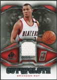 2007/08 Upper Deck SP Game Used Cut from the Cloth #CCBR Brandon Roy