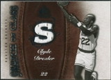 2007/08 Upper Deck SP Game Used Swatch of Class #SCCD Clyde Drexler