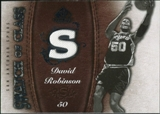 2007/08 Upper Deck SP Game Used Swatch of Class #SCDR David Robinson