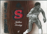 2007/08 Upper Deck SP Game Used Swatch of Class #SCJE Julius Erving