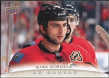 2011/12 Upper Deck Canvas #C131 Mark Giordano